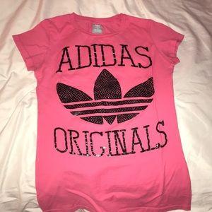 Pink Adidas Original Shirt